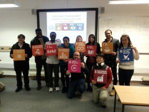 SDG teach-in image